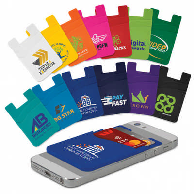 Dual Silicone Phone Wallet (118530_TRDZ)