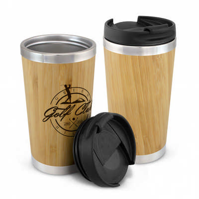 Bamboo Double Wall Cup (200297_TRDZ)