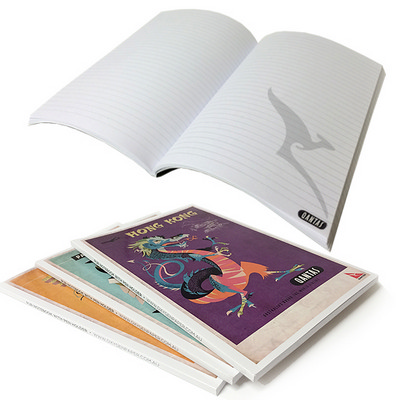 A5 50 leaf Books PUR 1c - (printed with 1 colour(s))