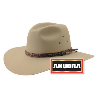 AKUBRA Felt Hat: RIVERINA - sand Riverina_Sand_AKU