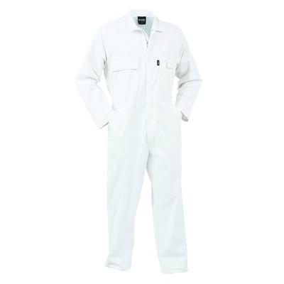 04 Comb Zip Cotton O/alls White 4 COZCO-WHI-04_AR