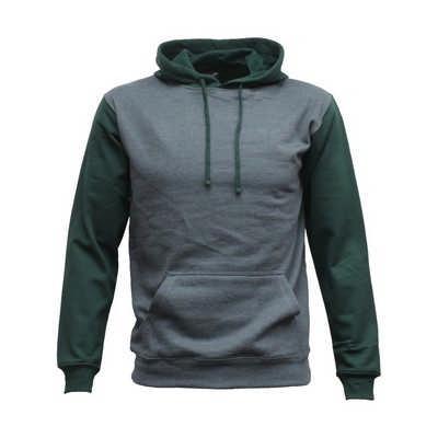 Contrast Pullover Hood