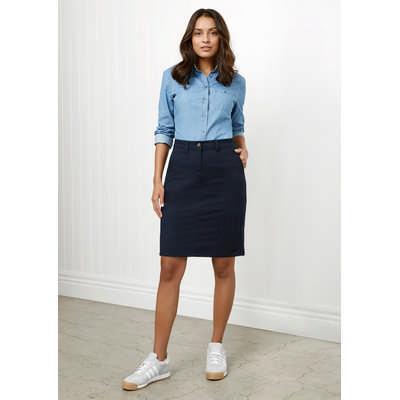 Ladies Lawson Chino Skirt (BS022L_BIZ)