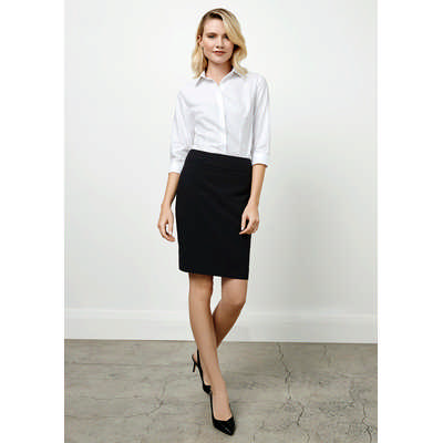 Ladies Classic Knee Length Skirt (BS128LS_BIZ)