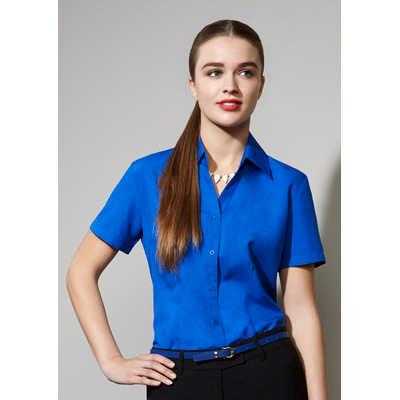 Ladies Plain Oasis Short Sleeve Shirt (LB3601_BIZ)