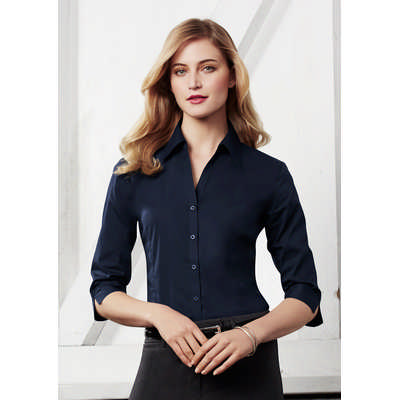Ladies Metro 3/4 Sleeve Shirt