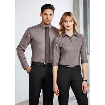 Ladies Chevron 3/4 Sleeve Shirt (S122LT_BIZ)
