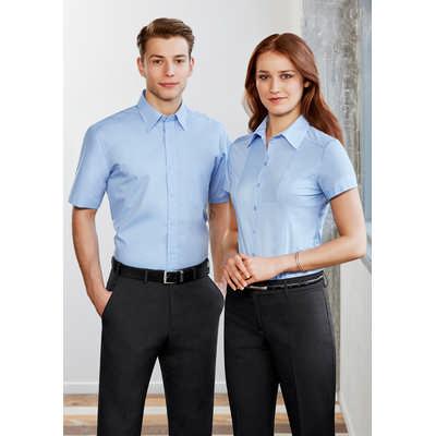 Ladies Chevron Short Sleeve Shirt (S122LS_BIZ)
