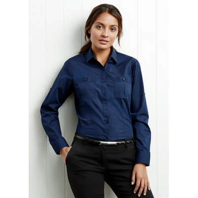 Ladies Bondi Long Sleeve Shirt (S306LL_BIZ)