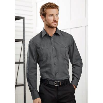 Mens Bondi Long Sleeve Shirt (S306ML_BIZ)