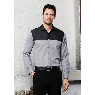 Mens Havana Long Sleeve Shirt (S503ML_BIZ)