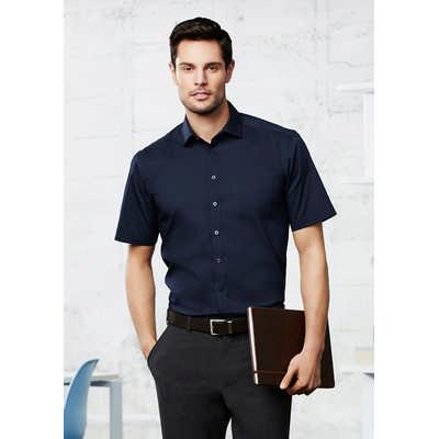 Mens Monaco Short Sleeve Shirt (S770MS_BIZ)