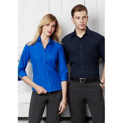 Mens Plain Oasis Short Sleeve Shirt (SH3603_BIZ)