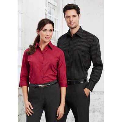 Mens Manhattan Long Sleeve Shirt (SH840_BIZ)