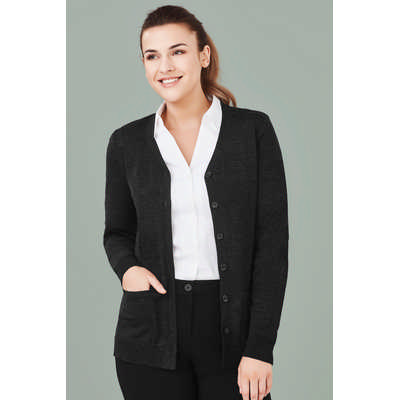 Womens Button Front Cardigan