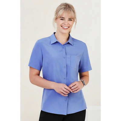 Womens Florence Short Sleeve Shirt CS947LS_CARE