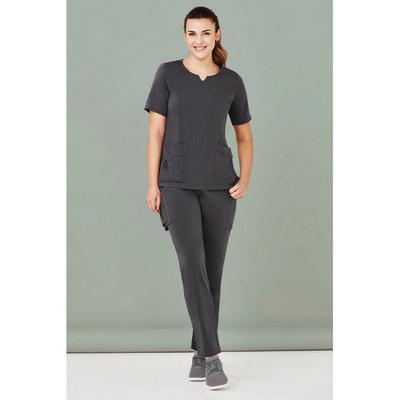 Womens Avery Multi-Pockets Slim Leg Pant