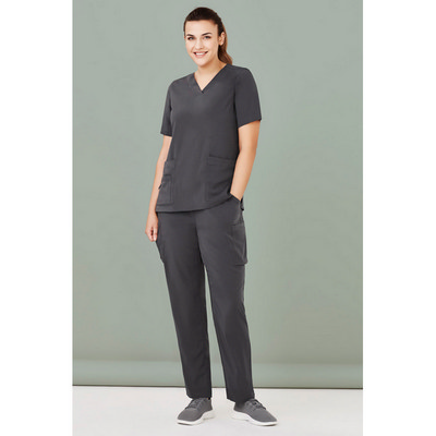 Womens Avery Multi-Pocket Straight Leg Pant