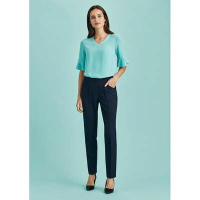 Womens Bandless Slim Leg Pant (10121_BZC)