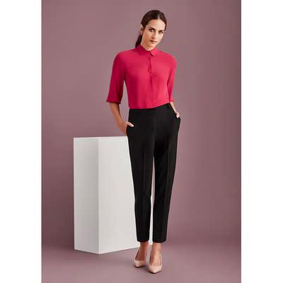 Womens Bandless Elastic Waist Pant (10722_BZC)
