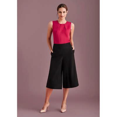 Womens Mid-Length Culottes (10728_BZC)