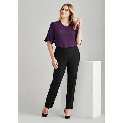 Womens Bandless Slim Leg Pant (14021_BZC)