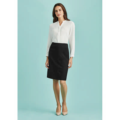 Womens Bandless Lined Skirt (20112_BZC)