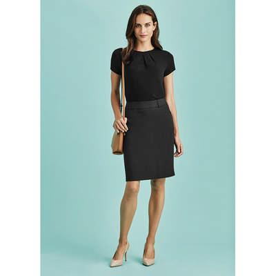Womens Multi-Pleat Skirt (20115_BZC)