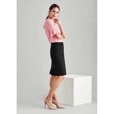 Womens Multi-Pleat Skirt (24015_BZC)