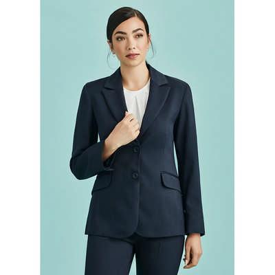 Womens Longline Jacket (60112_BZC)