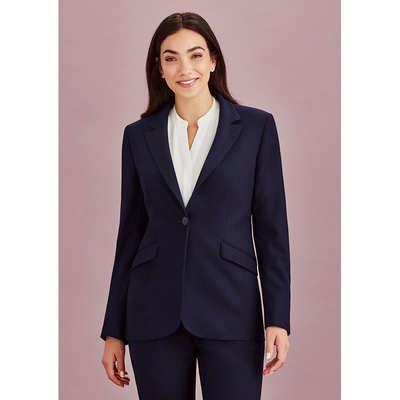 Womens Longline Jacket (60717_BZC)