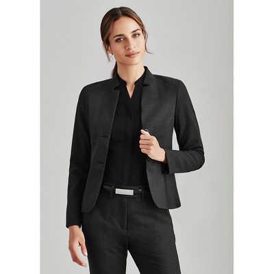 Womens Short Jacket with Reverse Lapel (64013_BZC)