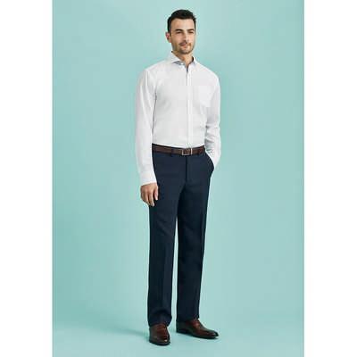 Mens Flat Front Pant Stout (70112S_BZC)