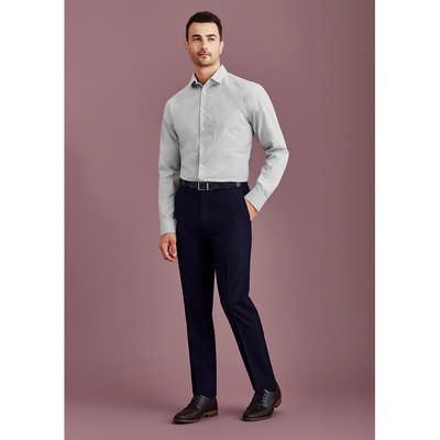 Mens Slim Fit Flat Front Pant Stout (70716S_BZC)
