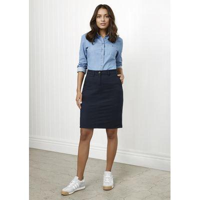 Lawson Ladies Chino Skirt (BS022L_BIZNZ)