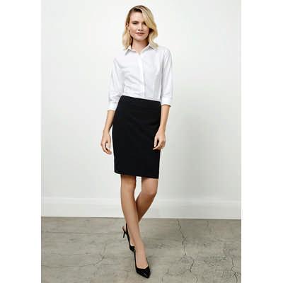 Ladies Classic Knee Length Skirt (BS128LS_BIZNZ)