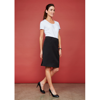 Ladies Detroit Flexi-Band Skirt (BS612S_BIZNZ)