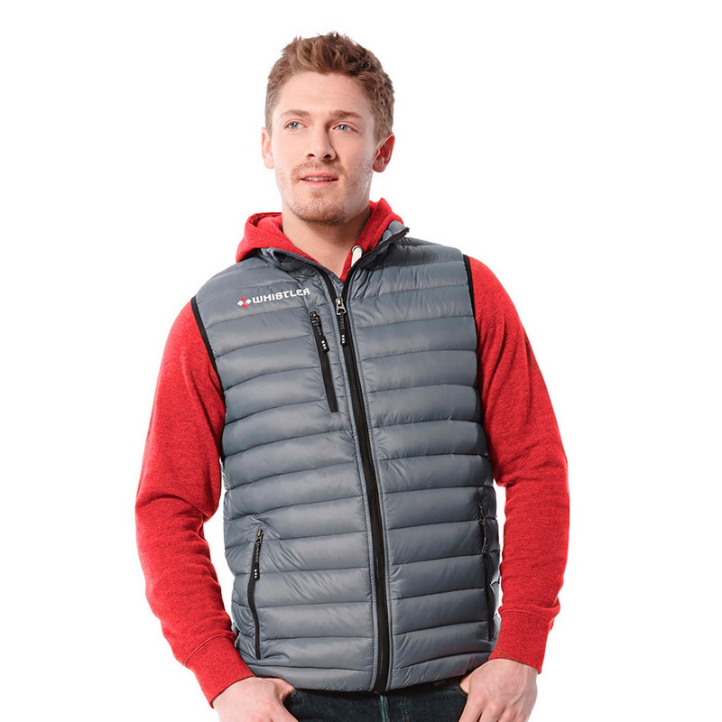 Whistler Light Down Vest - Mens (19898_BMV)