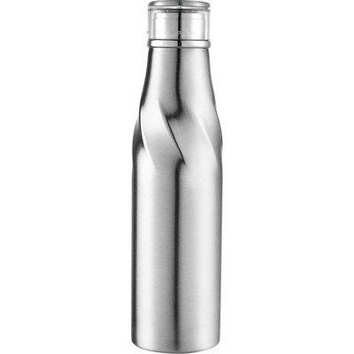 Hugo Auto-Seal Copper Vacuum Bottle - Silver (4074SL_BMV)