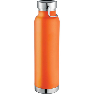 Thor Copper Vacuum Insulated Bottle - Orange (4075OR_BMV)