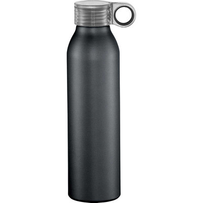 Grom 22 oz. Aluminum Sports Bottle - Black (4081BK_BMV)