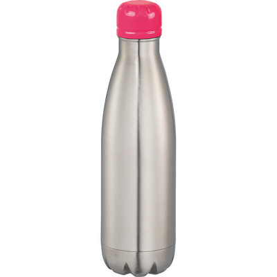 Mix-n-Match Copper Vacuum Insulated Bottle - SilverPink (4099SL/PK_BMV)