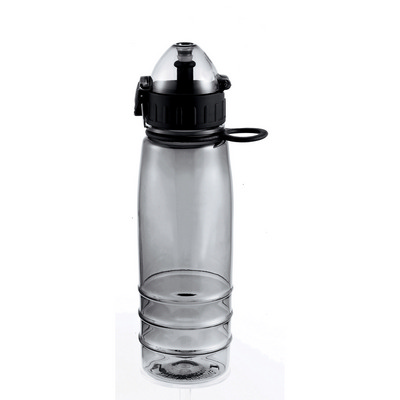 Flip-Top Sports Bottle - Smoke