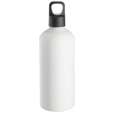 Aluminium Drink Bottle - White (4193WH_BMV)