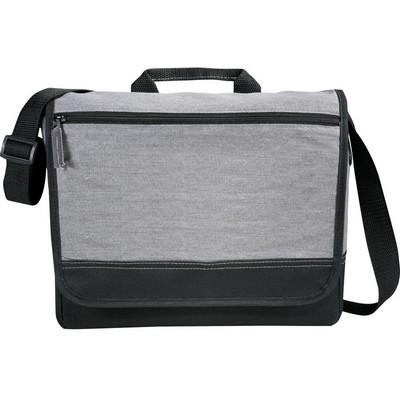 Faded Tablet Messenger Bag - Grey (5052_BMV)