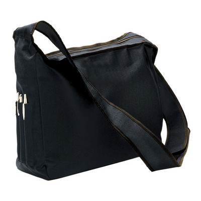 Conference Shoulder Bag - Black