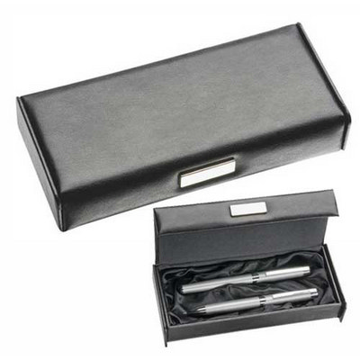 Leather Look Pen Box (683_BMV)