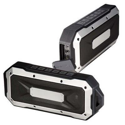 Boulder Waterproof Speaker - Black (7691BK_BMV)