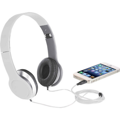 Atlas Headphones - White (7707WH_BMV)