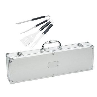 Stainless Steel BBQ Set Case (771_BMV)
